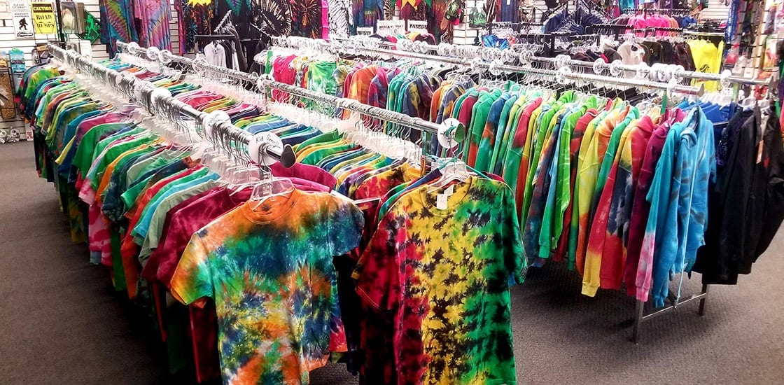 tie-dye tees and tanks