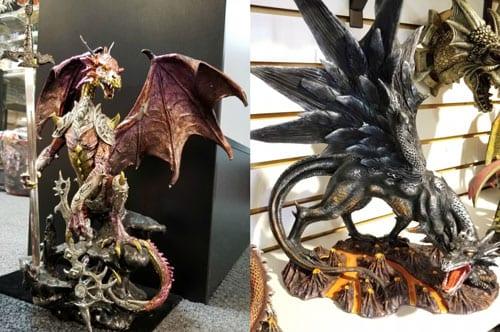 dragon statues springfield il